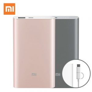 Original Xiaomi MI 10000 mAh Powerbank Pro Portable Charger.