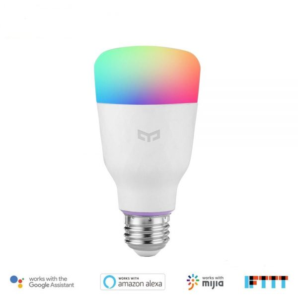 Yeelight Smart LED Bulb Color With Google Version