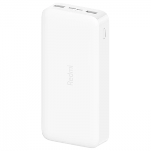 Redmi Power Bank 20000mAh Fast Charge – White