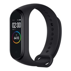 Xiaomi Mi Smart Band 4 Fitness Tracker with Color AMOLED Touch LCD & Music control - Black