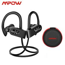Mpow Flame 2 ipx7 Waterproof 13H Playback Bluetooth 5.0 Sports Earphone CVC6.0 Noise Cancelling
