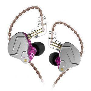 KZ ZSN Pro Metal Earphones 1BA+1DD HIFI Bass Earbuds With MiC