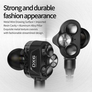 Plextone DX6 Detach Earphone Bluetooth Wired In-ear Earbuds With Mic