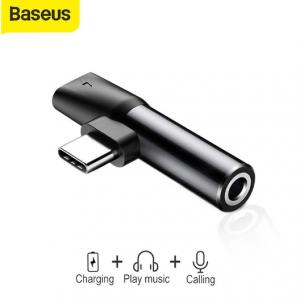 Original Baseus 2 in 1 USB Type C Mini Converter