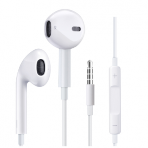 Stereo Sound 3.5mm Jack In-Ear Earphones for iPhone 6S 6 Plus 5S 5 SE Wire Control Earbud with Mic