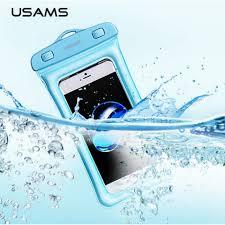 USAMS Transparent Waterproof Mobile Phone Bag