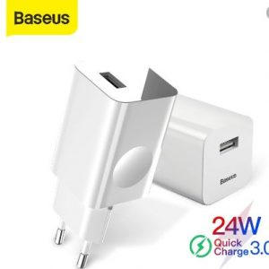 Baseus 24W Single USB Port Wireless Charging Quick Charger